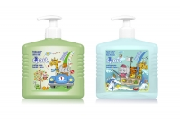 Pro Sport Junior caring soap hands & face 400 ml